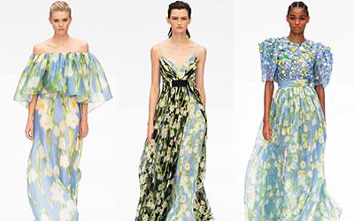 Женская одежда Carolina Herrera весна-лето 2020