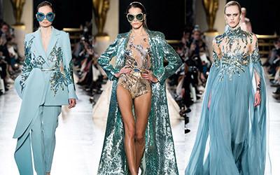 Вечерние платья Elie Saab Haute Couture весна-лето 2019