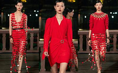 Женская одежда Lanvin весна-лето 2021