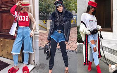 Безвкусные образы модниц из Instagram