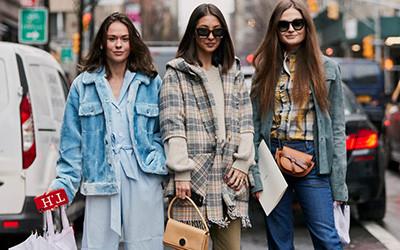 Street style на неделе моды в Нью-Йорке осень-зима 2019-2020