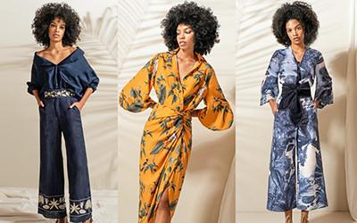 Элегантная женская одежда Andres Otalora весна-лето 2021