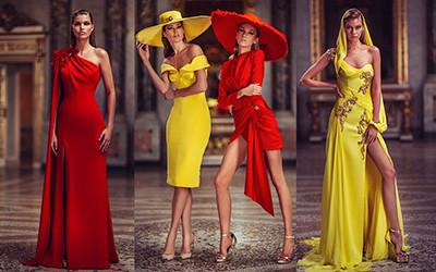 Вечерние платья Atelier Versace Haute Couture весна-лето 2019