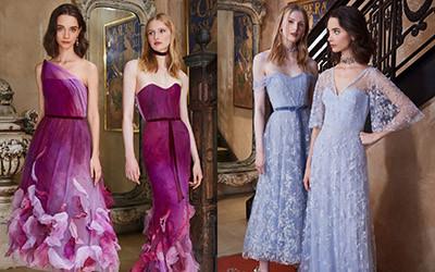 Красивые платья на выпускной из коллекции Marchesa Notte Resort 2020