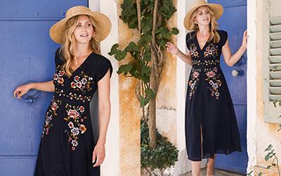 Весенние цветочные платья из коллекции Hope & Ivy 2021