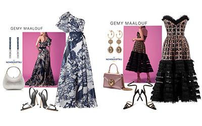 5 вечерних платьев для выпускного бала дизайнера Gemy Maalouf