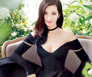 Li Bingbing на страницах Harper's Bazaar China
