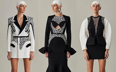 Потрясающие вечерние платья и костюмы Alon Livne весна-лето 2021
