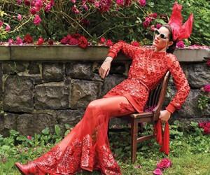 Hilary Rhoda для журнала Vogue Arabia