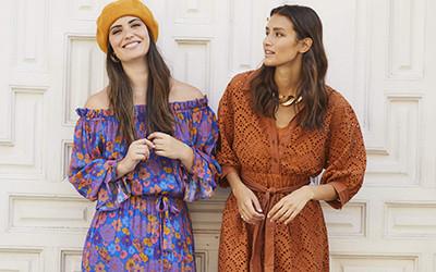 Модная женская одежда Sundress осень 2021