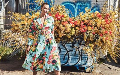 Karlie Kloss на страницах журнала Vogue US