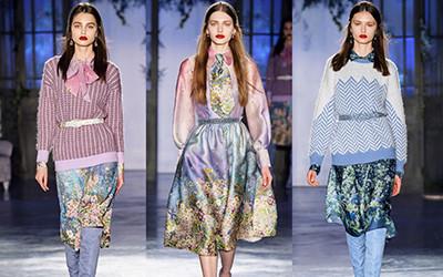 Женская одежда Luisa Beccaria осень-зима 2019-2020