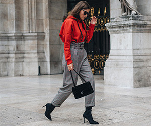 Модный блогер Nina Schwichtenberg