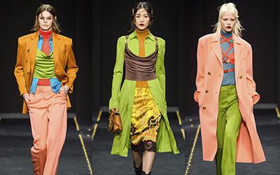 Женская одежда Versace осень-зима 2019-2020