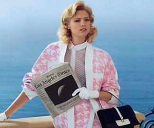 Hana Jirickova для журнала Harper's Bazaar
