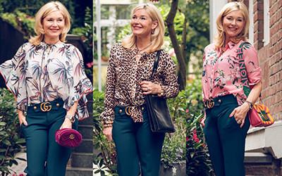 Мода для женщин за 50 от очаровательной немки Petra Dieners