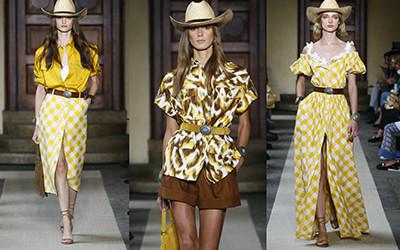 Модная женская одежда Luisa Spagnoli весна-лето 2022