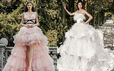 10 красивых пышных свадебных платьев из коллекции Alessandro Angelozzi 2020