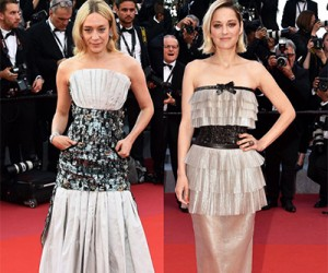 Знаменитости в вечерних платьях от Chanel