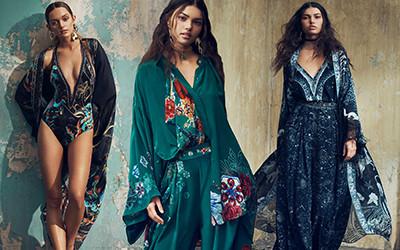 Пляжные платья и купальники в богемном стиле из коллекции Camilla 2020