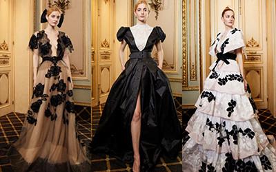 15 самых красивых вечерних платьев Yolan Cris осень-зима 2019-2020