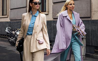 Street style на неделе моды в Милане весна-лето 2021
