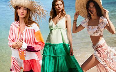 Самые популярные бренды пляжной женской одежды и купальников