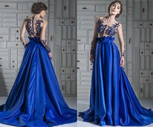 Вечерние платья Chrystelle Atallah весна-лето 2014