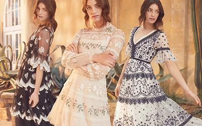 20 самых изящных и нежных платьев Needle & Thread Pre-Fall 2020
