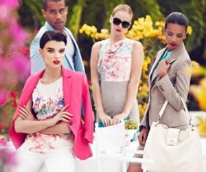 Рекламная кампания La Chateau весна-лето 2013