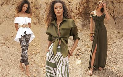 Красивая пляжная женская одежда Andres Otalora Resort 2022