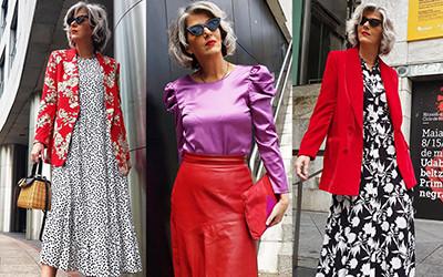Мода для женщин за 50 от эффектной испанки Carmen Gimeno