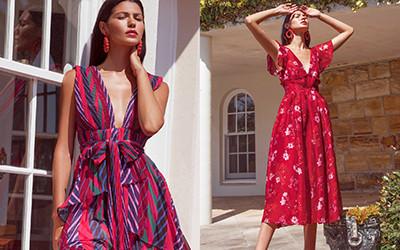 20 красивых летних платьев длины миди от бренда La Maison Talulah