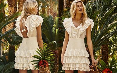 Красивые пляжные платья Fetiche Suances весна-лето 2021