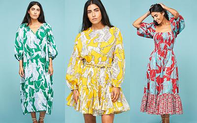 12 ярких пляжных платьев на лето из коллекции Rhode 2021