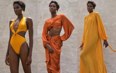 Роскошные купальники и пляжная женская одежда Andrea Iyamah 2022
