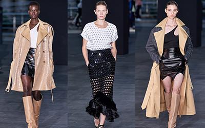 Женская одежда David Koma весна-лето 2020