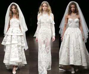 Свадебные платья Naeem Khan весна-лето 2018