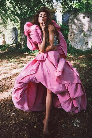 Anja Rubik для журнала Vogue Paris