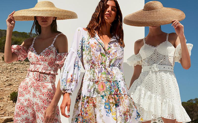 Пляжная женская одежда из хлопка Charo Ruiz Ibiza 2021