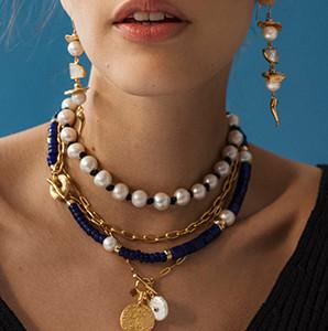 Модные украшения из натуральных камней Lizzie Fortunato 2021