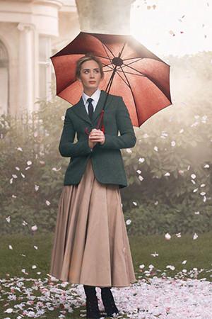 Emily Blunt на страницах журнала Harper's Bazaar UK