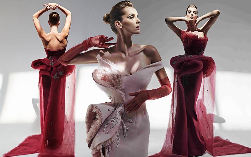 Невообразимо роскошные вечерние наряды Azzi & Osta Haute Couture осень-зима 2019-2020