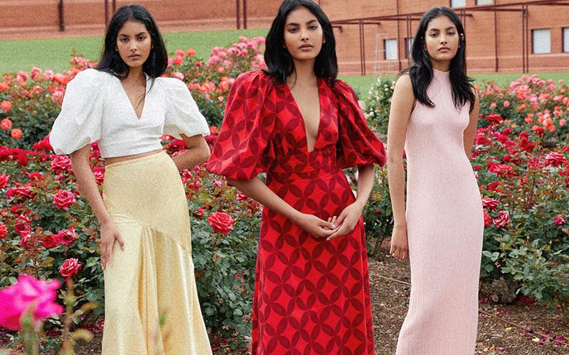 Красивая женская одежда Acler осень 2021