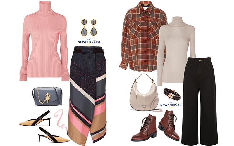 Модные сеты женской одежды осень 2019