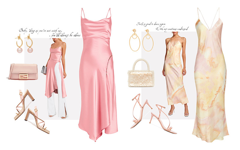 Платье комбинация - идеальное вечернее платье в вашем гардеробе!
